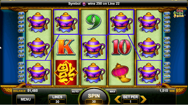 China Mystery Slot Game
