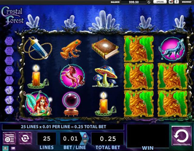 Crystal Forest Slot Game
