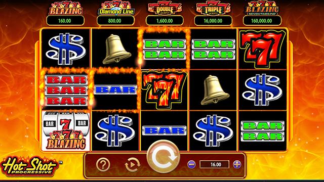 Hot Shot Progressive Slot Game