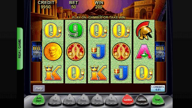 Pompeii Slot Game Aristocrat
