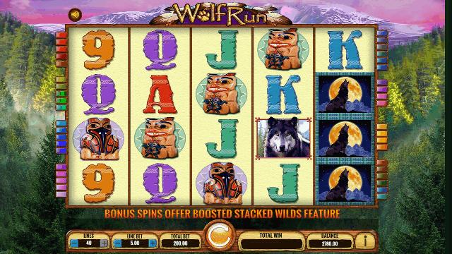 Wolf Run Slot Machine IGT