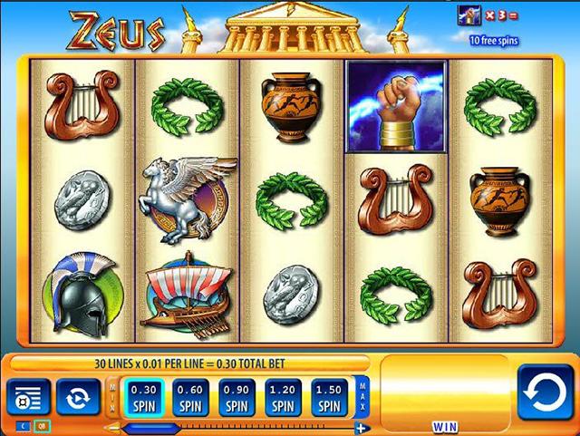 Zeus Slot Machine WMS