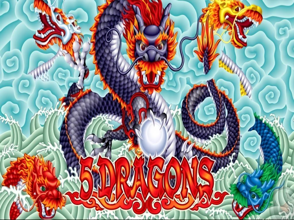 5 dragons slot machine