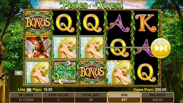Pixies Casino Slot