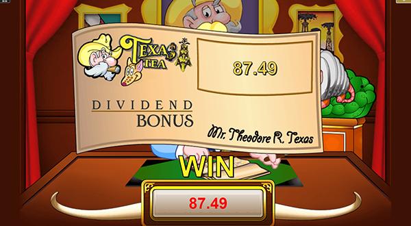Texas Tea Slot Bonus