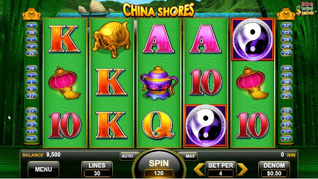 China Shores Slot Game