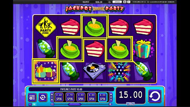 Jackpot Block Party Slot Game