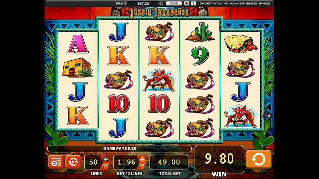 Jumpin Jalapenos Slot Machine