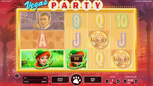 Vegas Party Slot Game
