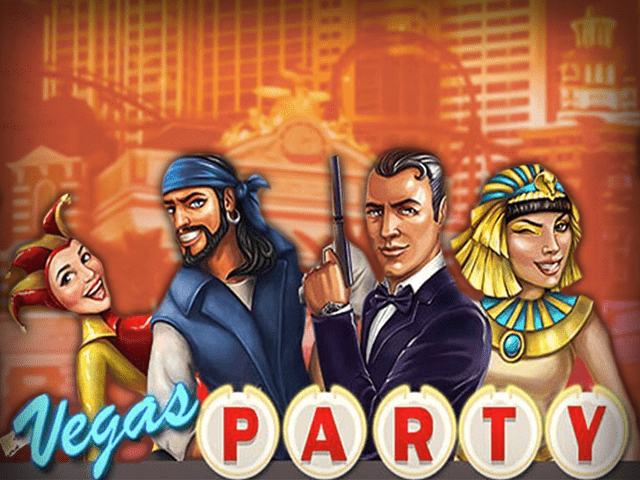 Vegas Party Slot NetEnt