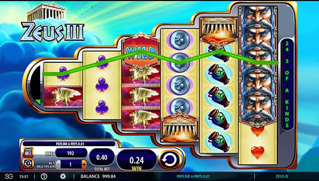 Zeus 3 Slot Game