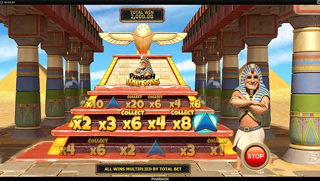 Pharaoh Slot Machine Bonus Game Inspired Gaming