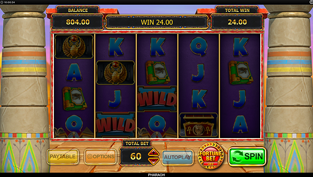 Pharaoh Slot Machine Inspired Gaming