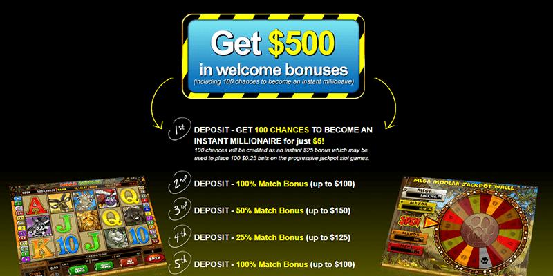 Captain Cooks Casino Bonus Promotion