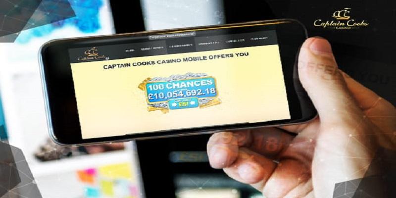 Captain Cooks Casino Mobile